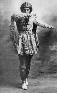 Nijinsky en Le Festin, 1909